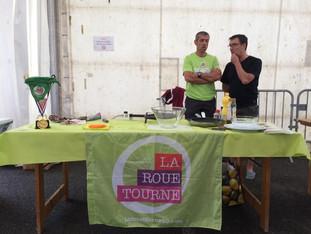 Concours d'omelette aux piments des fêtes de Saubrigues