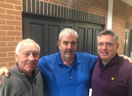 Doubles Matchplay winners Gary Johnson and Ron Tuckey  -  Congratulations