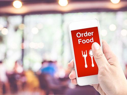 الطلب الالكتروني للمطاعم