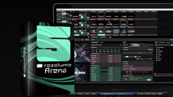Resolume-arena-lime-art
