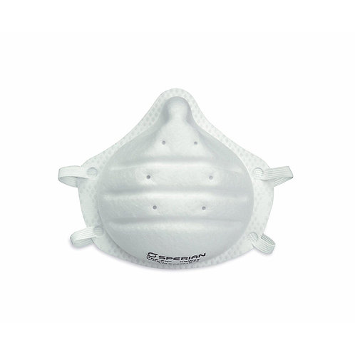 Honeywell Sperian ONE-Fit N95 Molded Cup Disposable Particulate Respirator, 2-Pa
