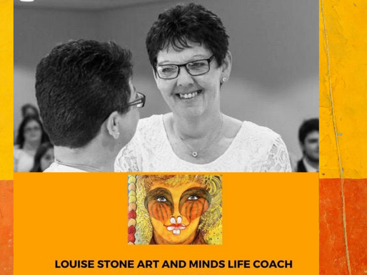 The Story Behind...Louise Stone Art and Minds Life Coach.