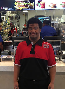 Marcus at McDonald's