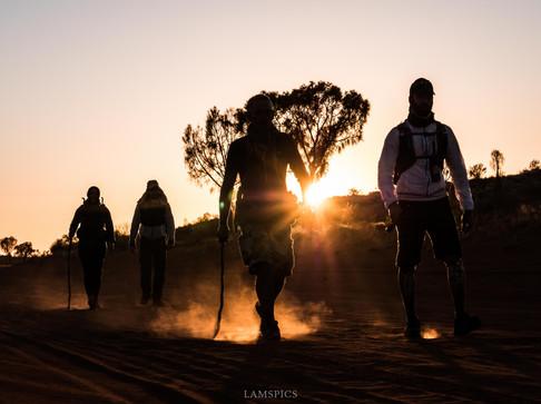 La fine équipe de Rémi Camus au Bush australien