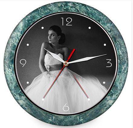 Круглые часы 29 см