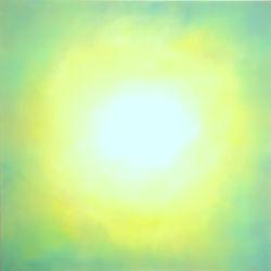 """Light"" 100x100 oil on canvas, 2020"