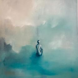 Seule 100x100cm oil on canvas 2020.JP