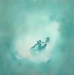 """Confinee"", Oil on canvas, 100x100, 2020"