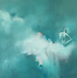 """Introspection"", Oil on canvas, 100x100, 2020"
