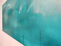 Isolation 80x190cm oil on canvas 2020.JP