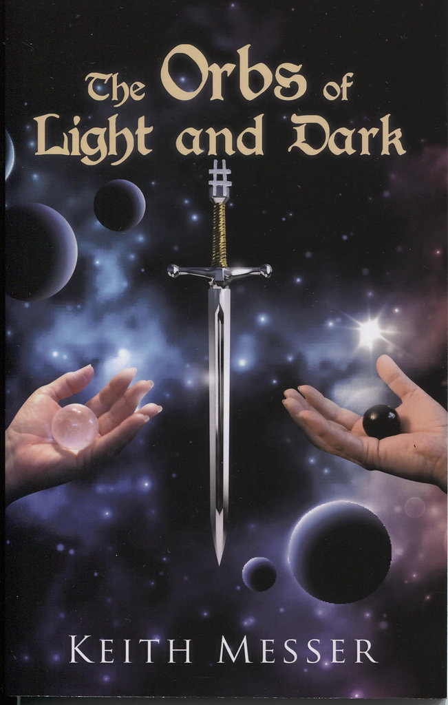 The Orbs of light and Dark Cover