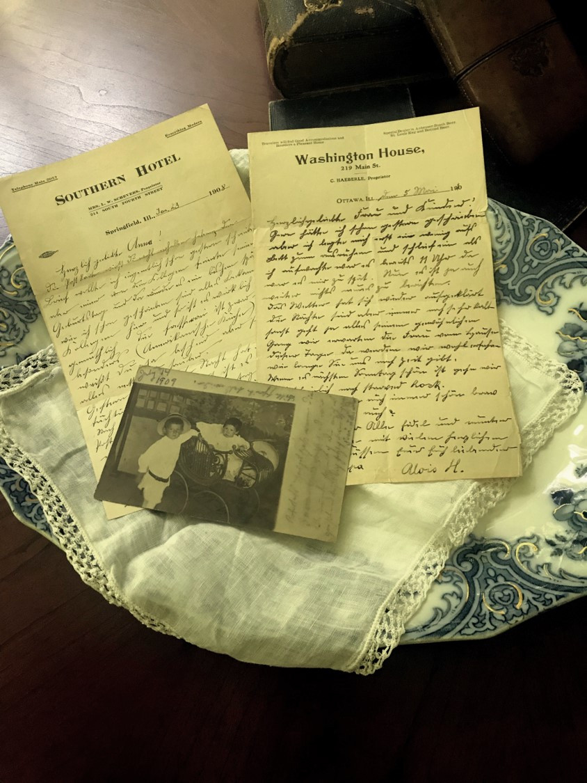 Letters & Real-Photo Postcard