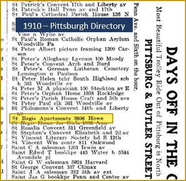 1910 Directory