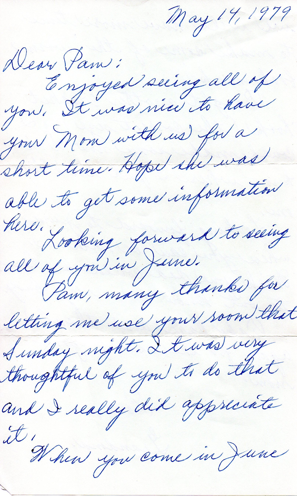 Grandmother's Letter