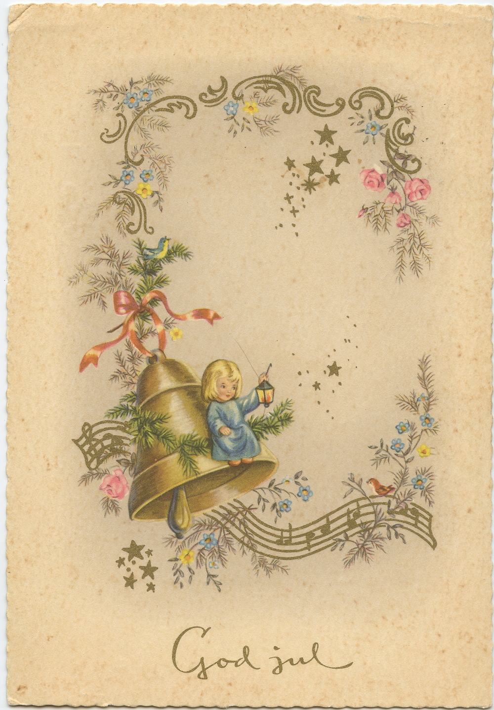 Old Norwegian Postcard