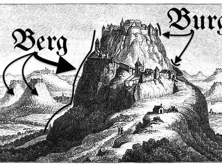 Why burg, why berg?