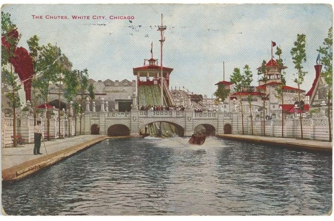 White City Postcard Front