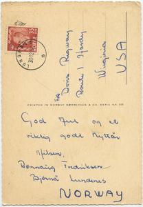 Norwegian Postcard