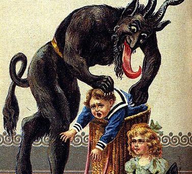 St. Nicholas's Bad Cop: Krampus
