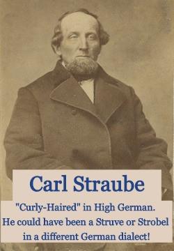 Carl Straube vs Strobel or Struve