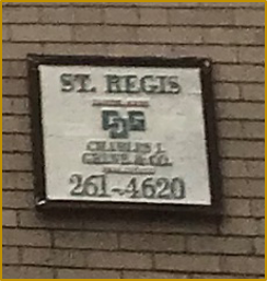 St. Regis Apartment