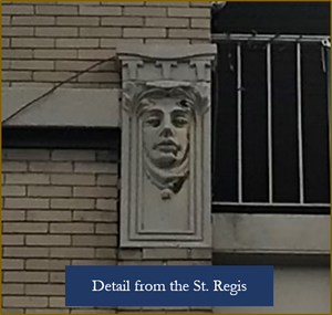 St. Regis Building detail