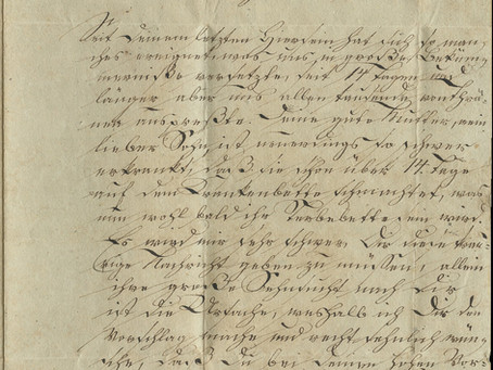 Beloved Son, Hurry! 1843 Letter