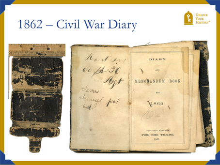 Civil War Diary Translation?