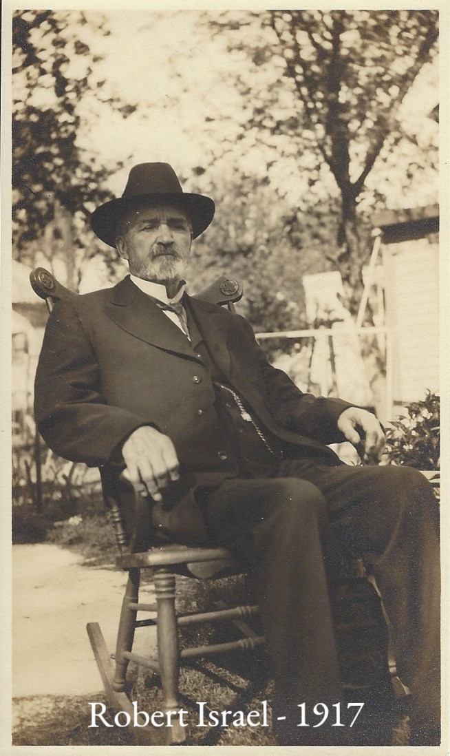 """Civil War"" Robert in later years - 1917"