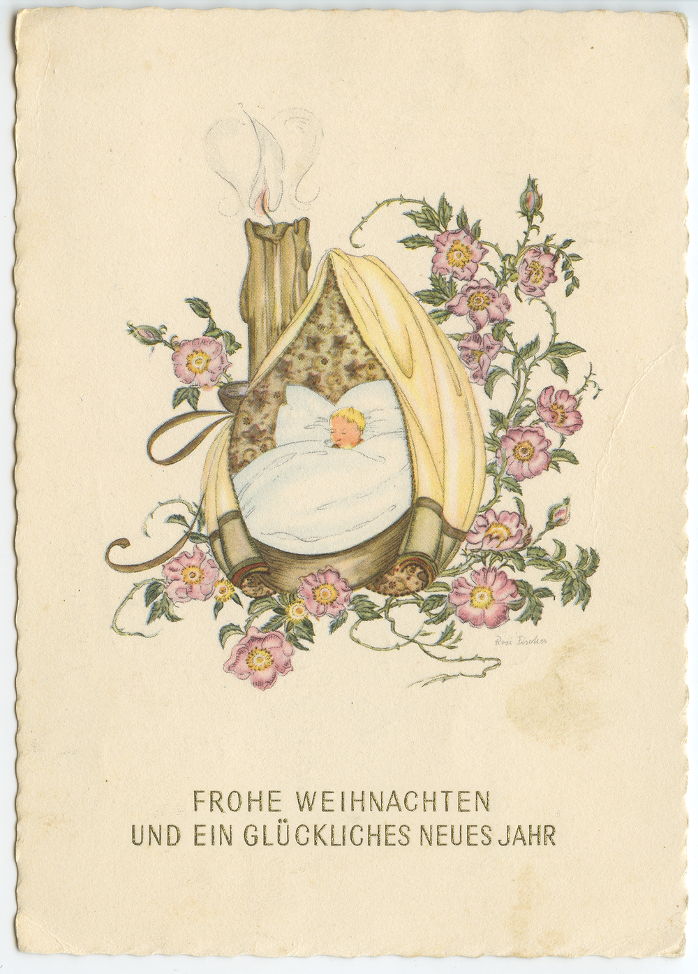 Austrian Postcard old German handwriting