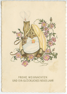 Austrian Postcard old German handwriting