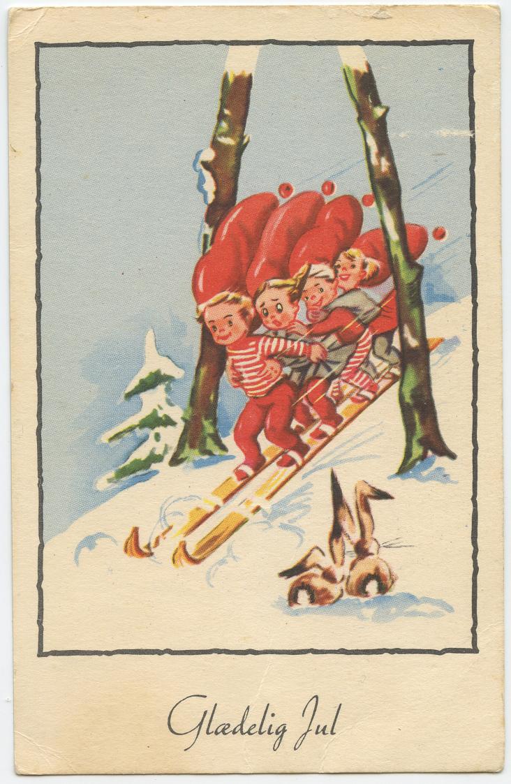 Old Danish Postcard