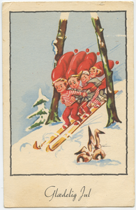 Old Danish Postcard