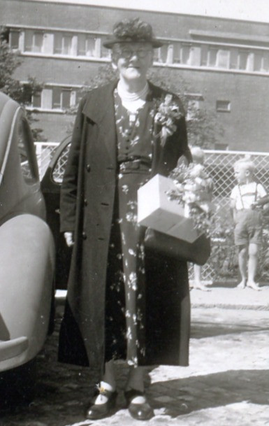 Christine Trede after a year in Chicago - 1951