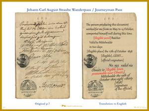 Translation Journeyman Pass - Wanderpass