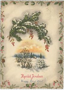 Finnish Christmas Card