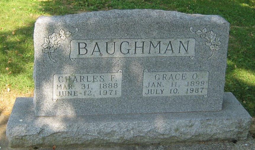German Baughman Graveystone