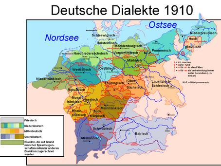 Low German, High German, Upper German-  what is all that?