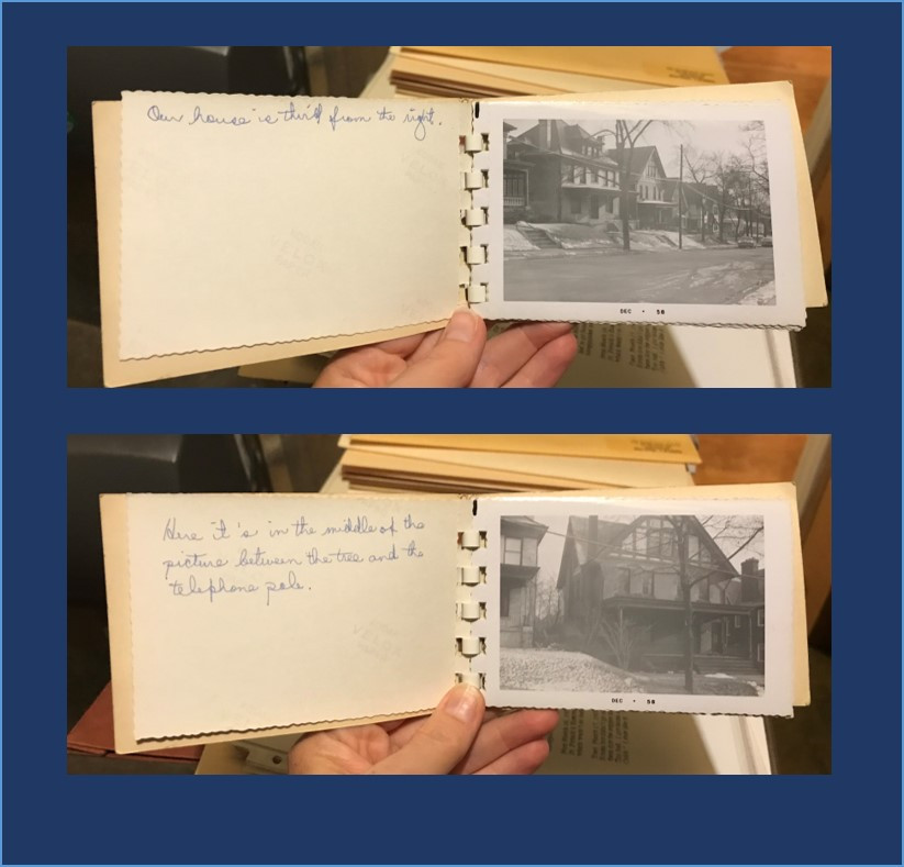 1950s Photo Book with Notes