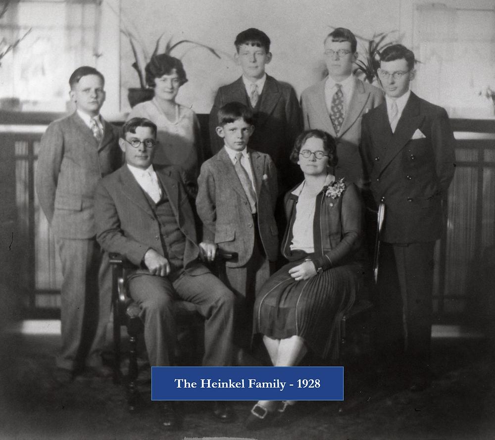 1918 - The Heinkel Family
