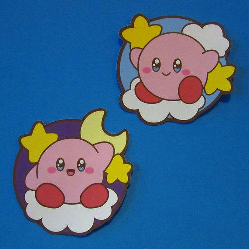Kirby Starry Stickers