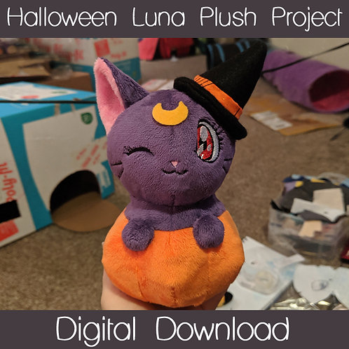 Halloween Luna Plush Project
