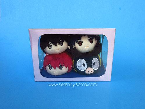 Ranma 1/2 Mini Stacking Plush Box Set