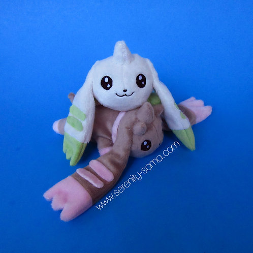 Terriermon kuttari plush