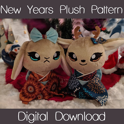 New Years Plush Project