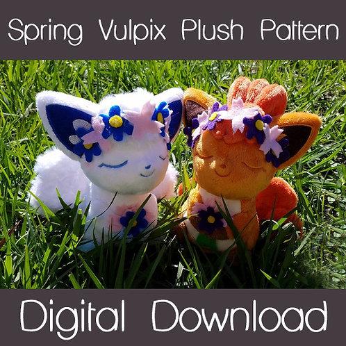 Spring Vulpix Plush Project