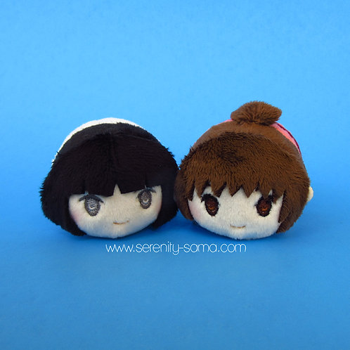 Haku & Chihiro Mini Stacking Plush Set