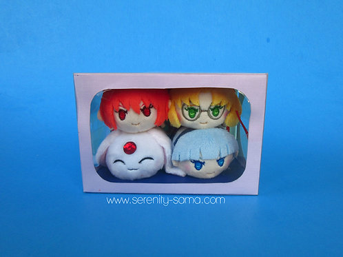 Magic Knight Rayearth Mini Stacking Plush Box Set