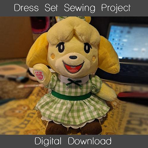 Plush Dress Set Sewing Project