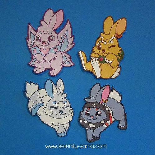 Cybunny Stickers